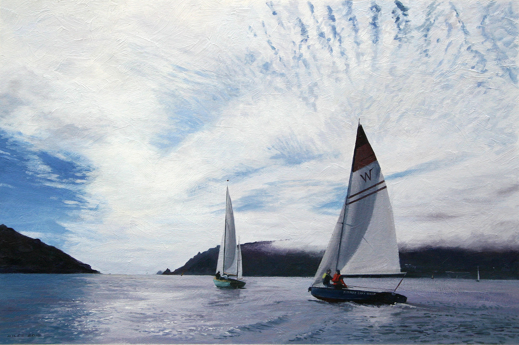 Gerry_Miles_devonpaint_devon_Sailing_under_a_Mackerel_Sky.jpg