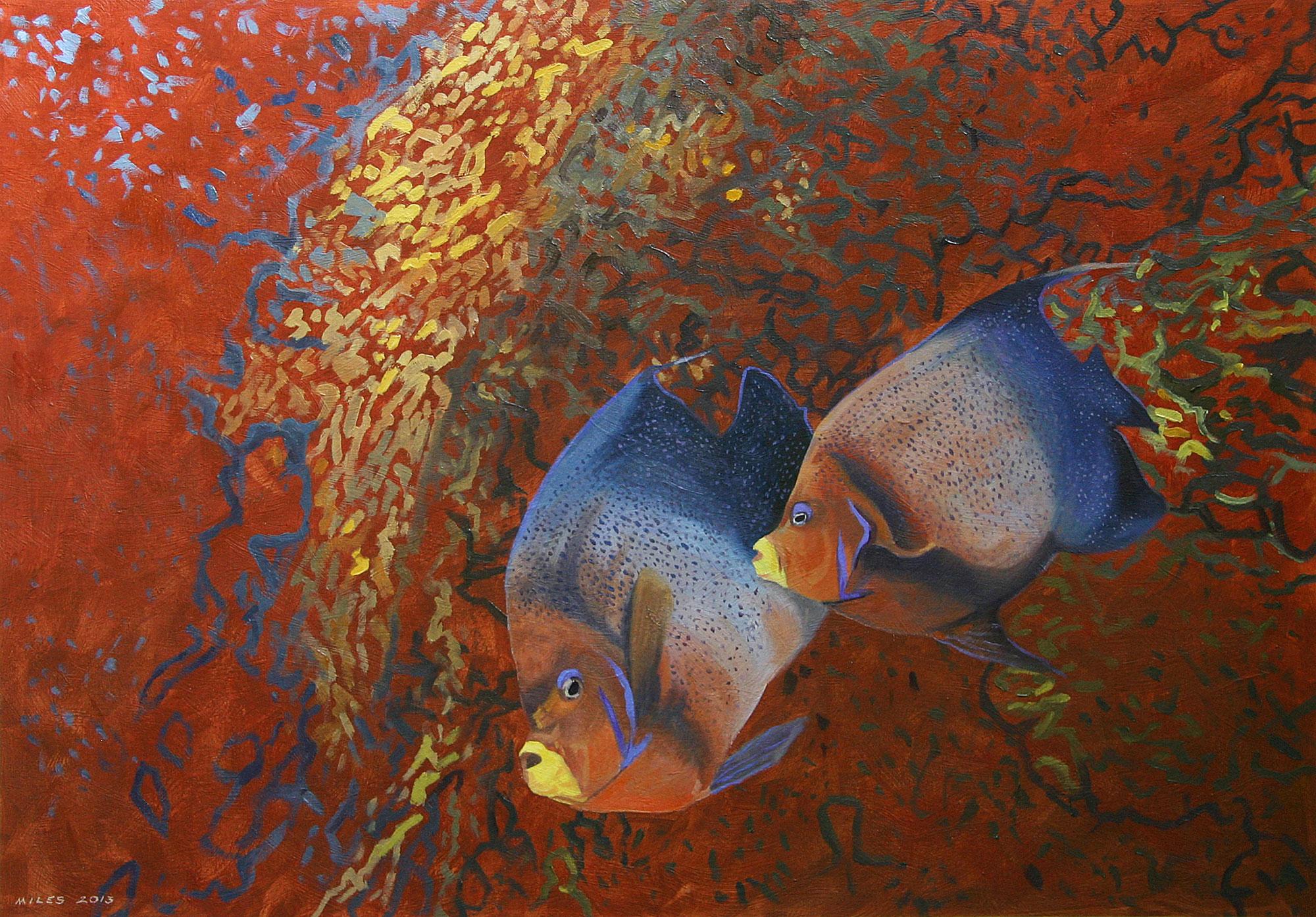 Gerry_Miles_divepaint_underwater_paintings_Semicircle_Angel_Fishes.jpg