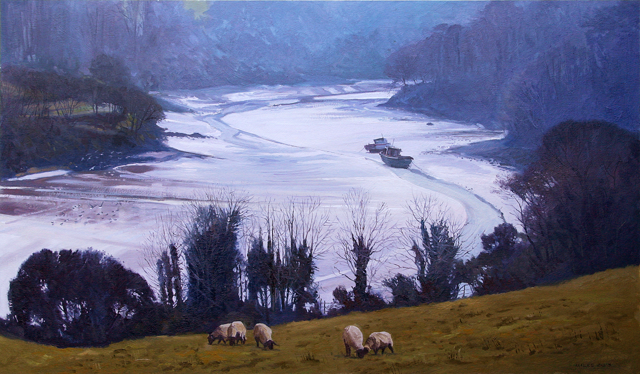 Gerry-Miles-devonpaint-devon-Estuary-in-Winter-The-Estuary-in-Winter.jpg
