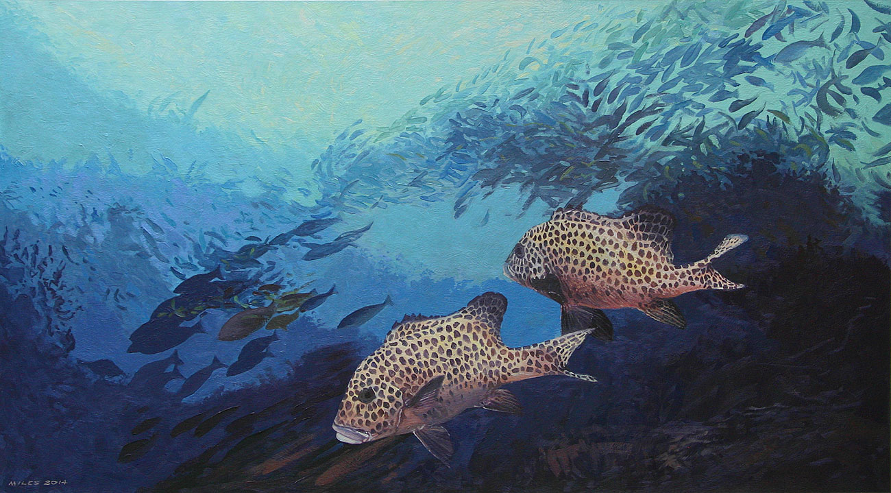 Gerry-Miles-divepaint-underwater-paintings-spotted-sweetlips.jpg