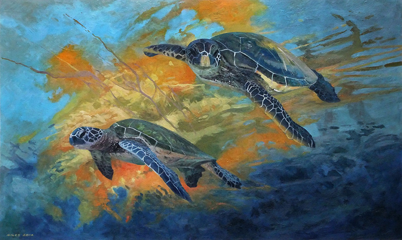 Gerry-Miles-Underwater-Paintings-Green-Turtles.jpg