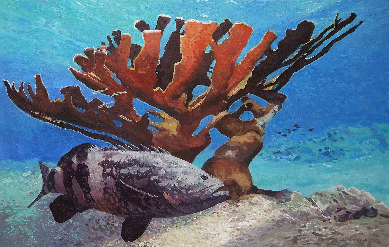 Underwater-Painting-Gerry-Miles-Grouper-Staghorn.jpg