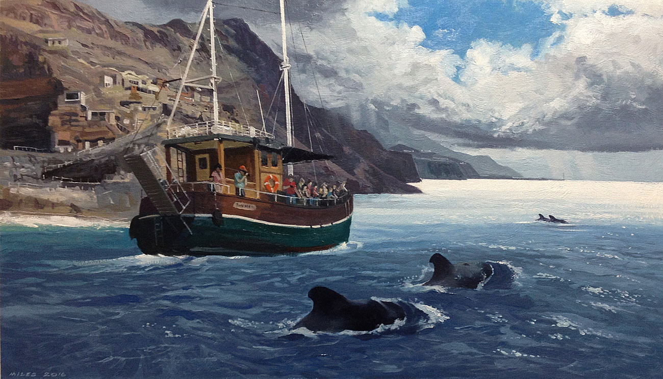 landscape-Painting-Gerry-Miles-Whale-watching-in-La-PalmaWhale-watching-in-La-Palma.jpg