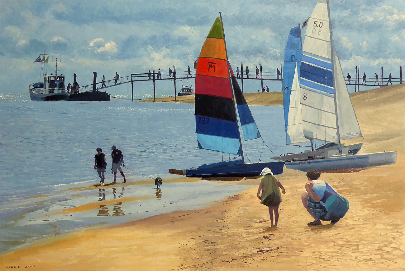 Dutch-Landscape-Painting-Gerry-Miles-The-Ferryboat-to-Vlieland.jpg