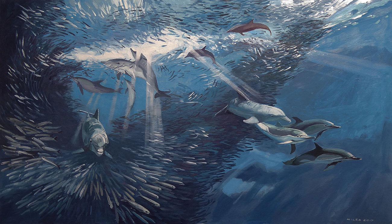 Underwater-Painting-Gerry-Miles-The-Bait-Ball.jpg