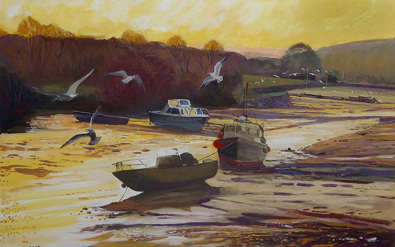 ebb tide on the estuary