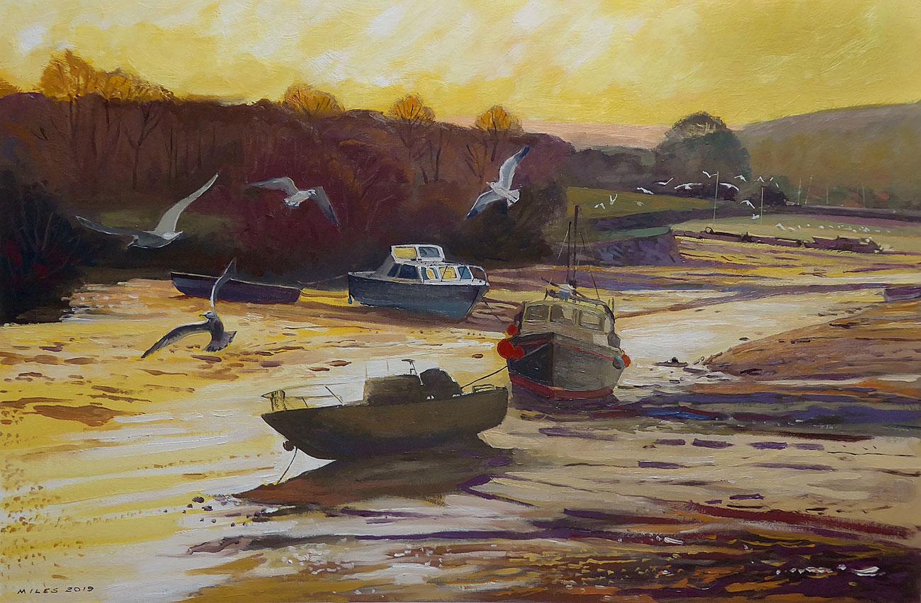 Devon-Landscape-Painting-Gerry-Miles-Ebb-tide-in-the-estuary.jpg
