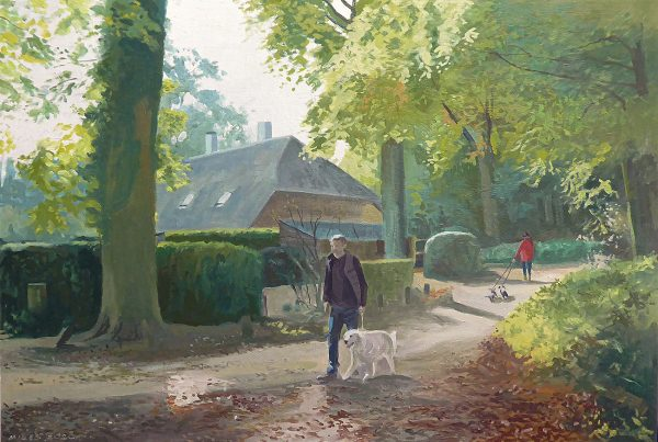 The zegenwerp estate typifies the Brabant landscape